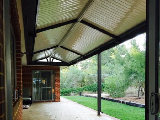 Gable patio by Perth Patio Magic