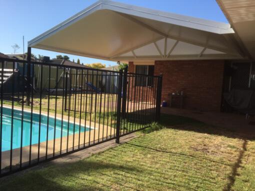 SolarSpan gable patio