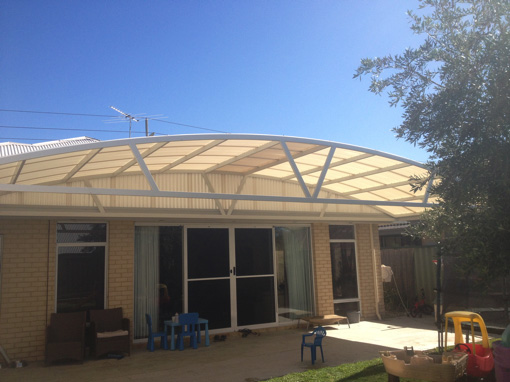 Dome patio by Perth Patio Magic