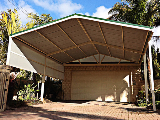 Carport patio by Perth Patio Magic