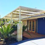 Raised flat patio by Perth Patio Magic